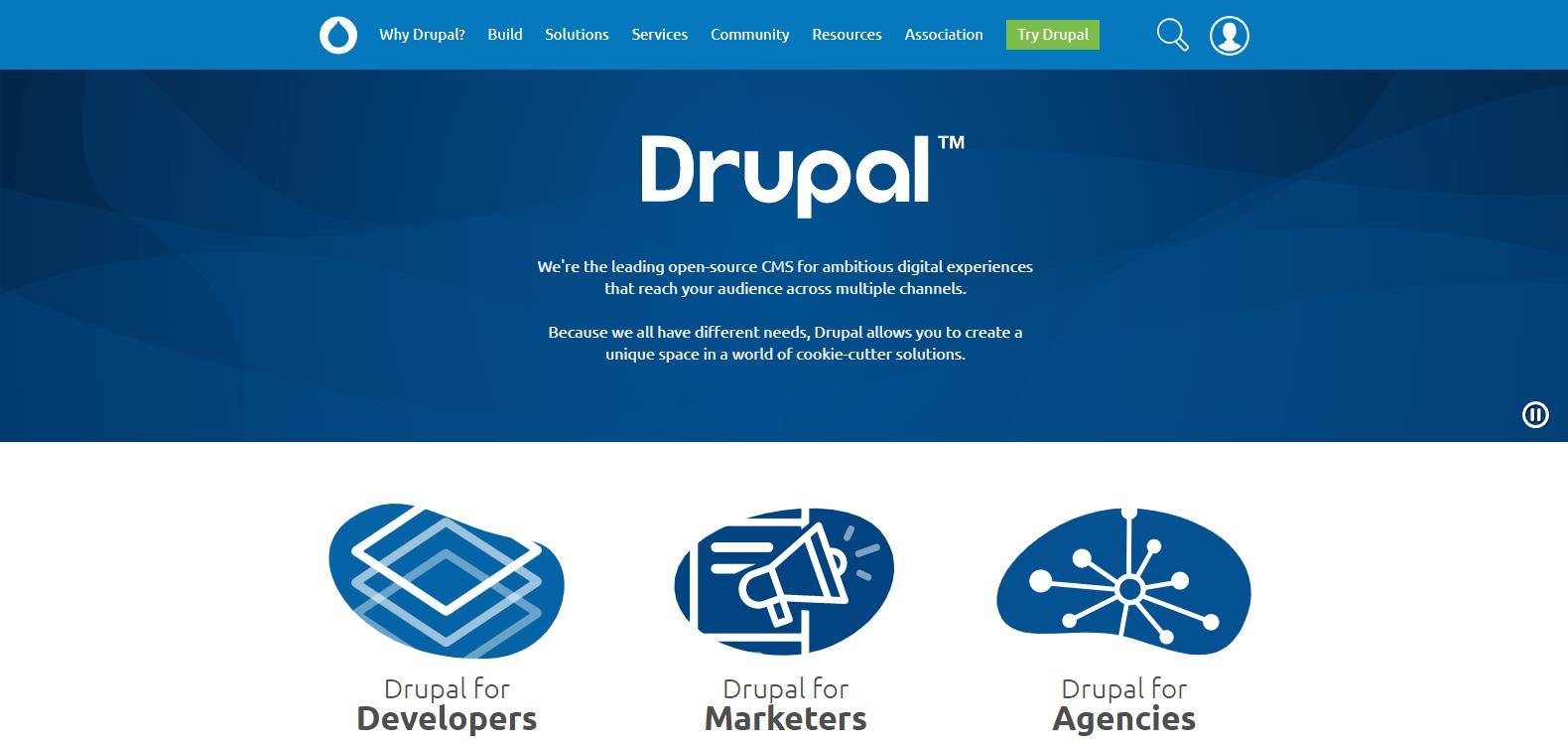 Drupal – Dragon is on Fire