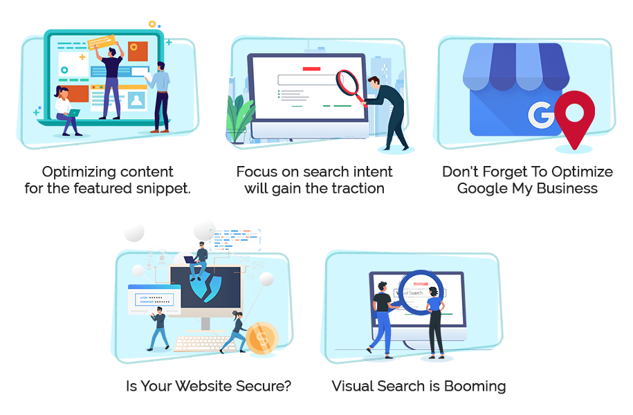Latest 5 SEO Trends that Rank your website