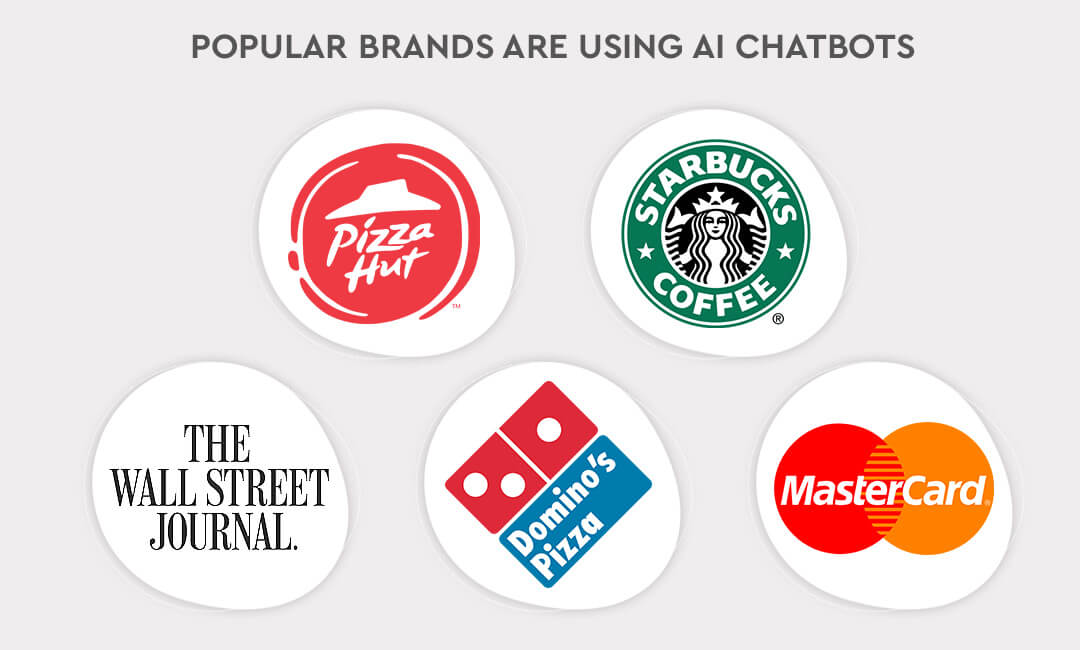 Popular brands are using AI chatbots