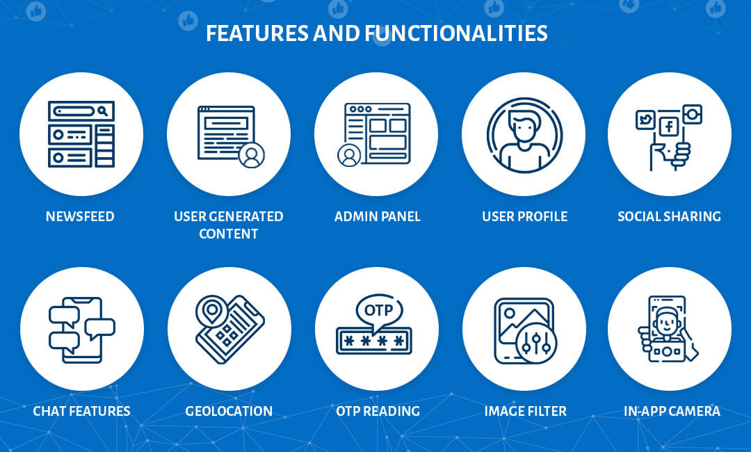 features and functionalities