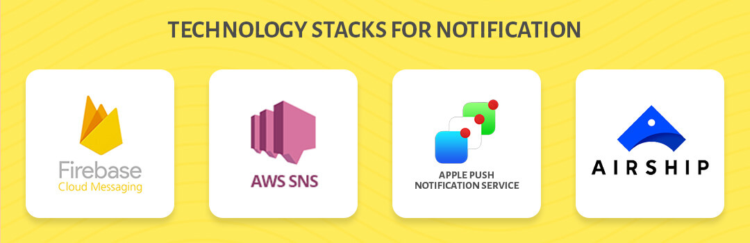 technology stacks for notification