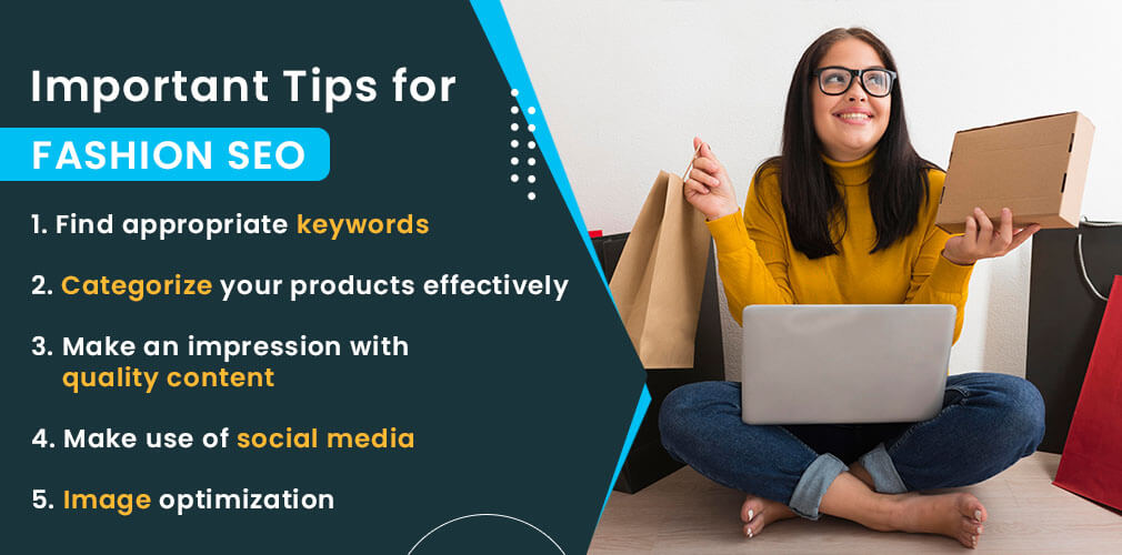 Importance tips for Fashion SEO