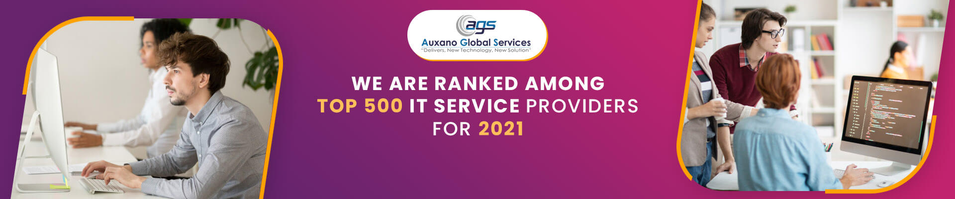 Ranked Top 500 IT Services Providers For 2021 | Auxano Global Services
