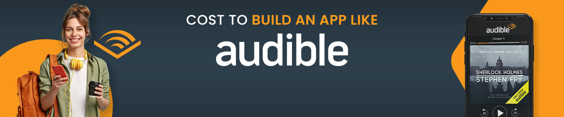 How Much Does It Cost To Build An App Like Audible in 2021?