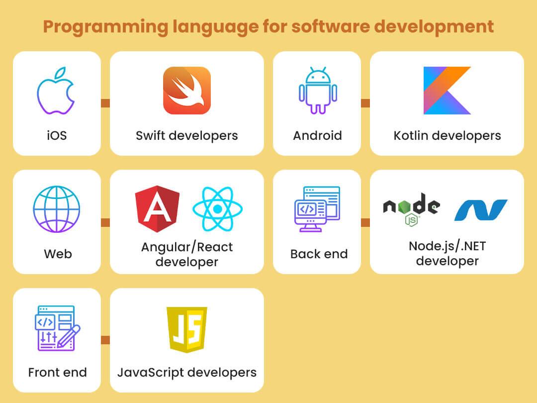 Programming language for software development