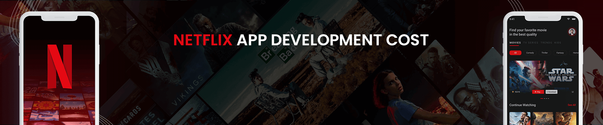 How Much Does Netflix Like App Development Cost? [2021]